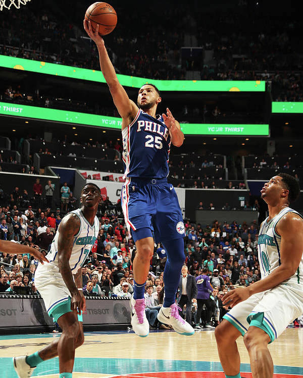 Nba Pro Basketball Poster featuring the photograph Ben Simmons by Kent Smith