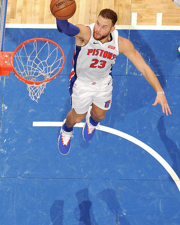 Nba Pro Basketball Poster featuring the photograph Blake Griffin by Fernando Medina