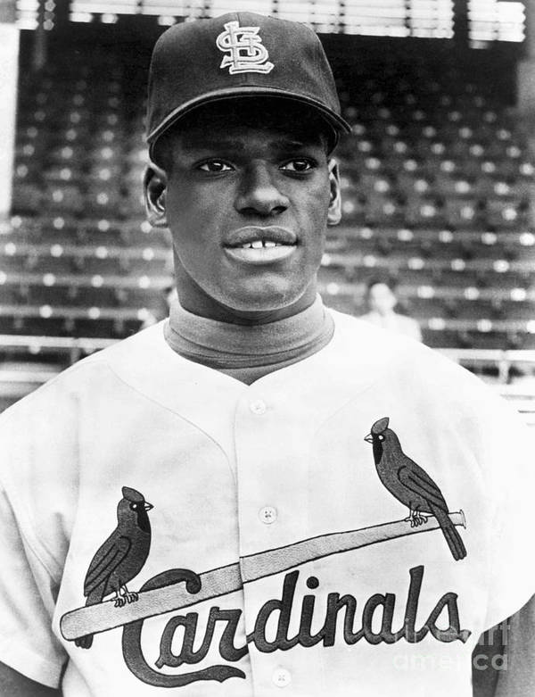 St. Louis Cardinals Poster featuring the photograph Bob Gibson by National Baseball Hall Of Fame Library