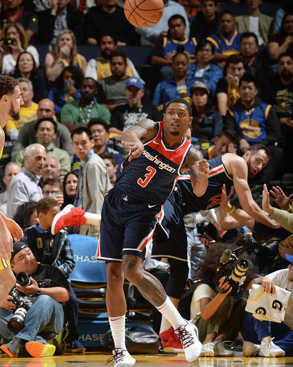 Nba Pro Basketball Poster featuring the photograph Bradley Beal by Noah Graham