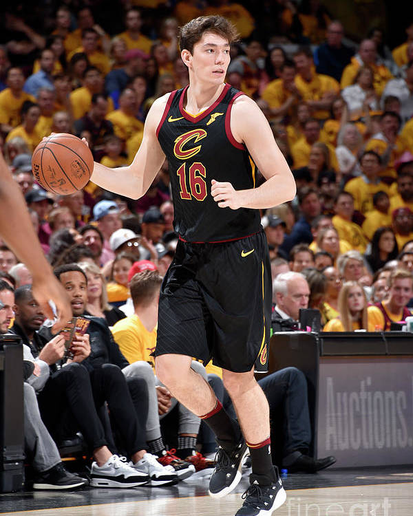 Playoffs Poster featuring the photograph Cedi Osman by David Liam Kyle