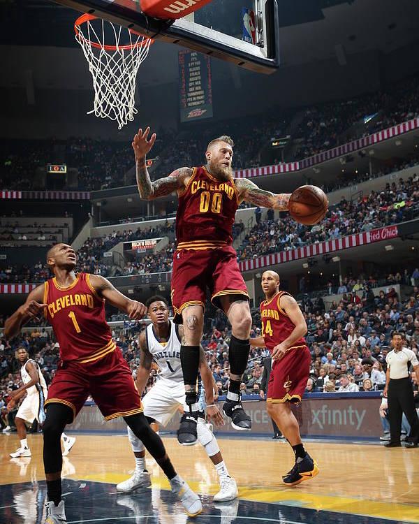 Nba Pro Basketball Poster featuring the photograph Chris Andersen by Joe Murphy