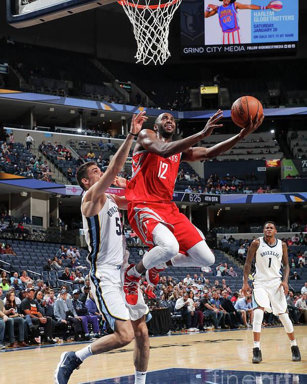 Nba Pro Basketball Poster featuring the photograph Chris Paul by Joe Murphy
