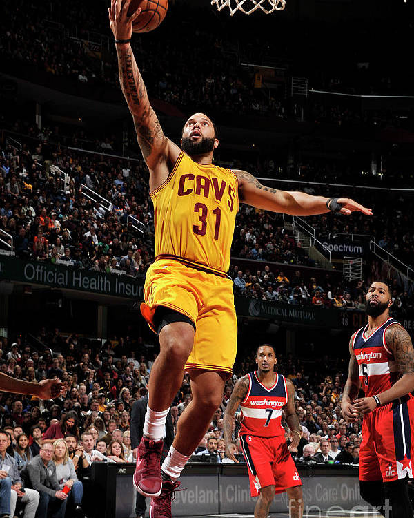 Nba Pro Basketball Poster featuring the photograph Deron Williams by David Liam Kyle