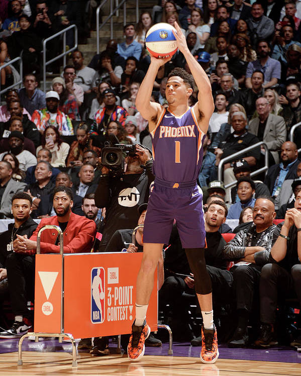 Event Poster featuring the photograph Devin Booker by Andrew D. Bernstein