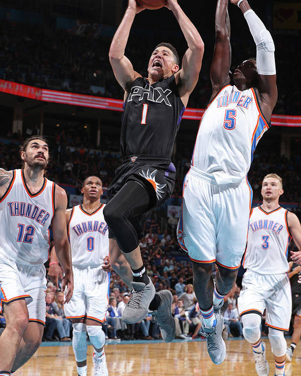 Nba Pro Basketball Poster featuring the photograph Devin Booker by Joe Murphy