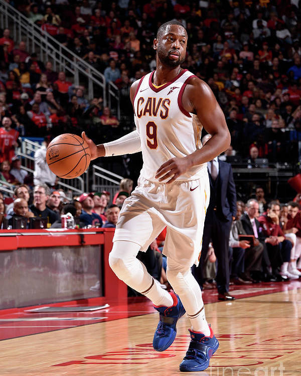 Nba Pro Basketball Poster featuring the photograph Dwyane Wade by Bill Baptist
