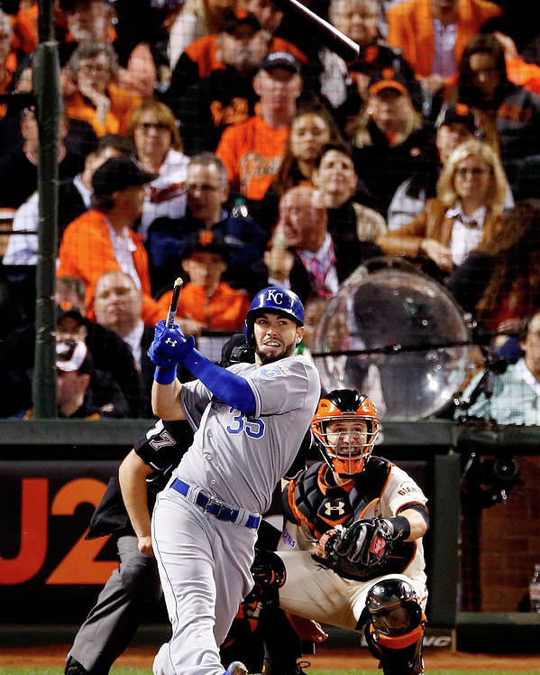 San Francisco Poster featuring the photograph Eric Hosmer by Thearon W. Henderson