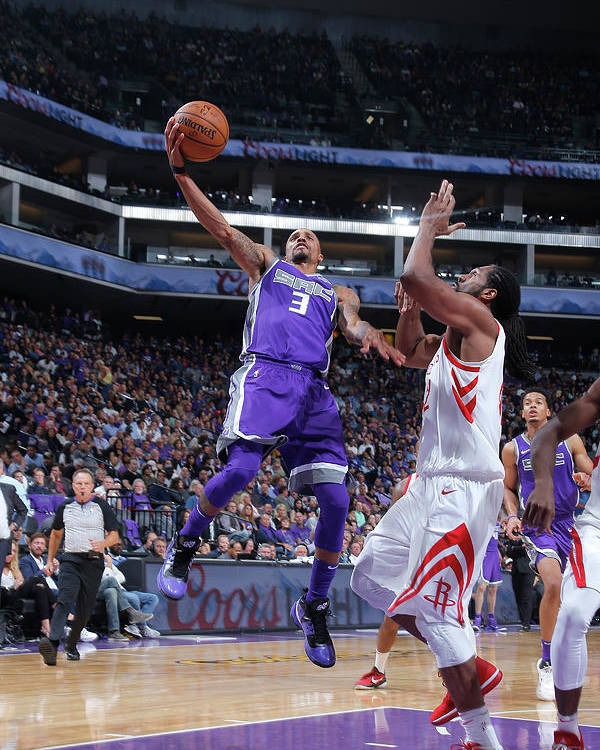Nba Pro Basketball Poster featuring the photograph George Hill by Rocky Widner