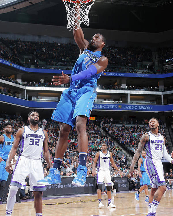 Nba Pro Basketball Poster featuring the photograph Harrison Barnes by Rocky Widner