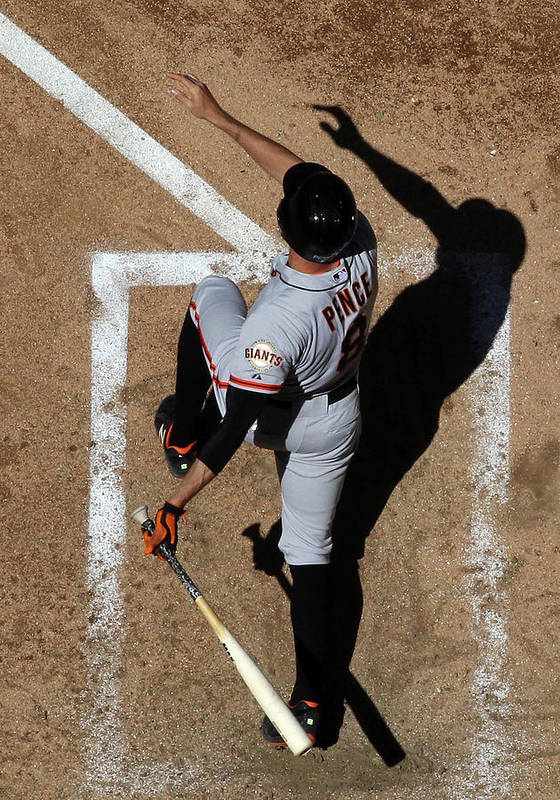 National League Baseball Poster featuring the photograph Hunter Pence by Christian Petersen