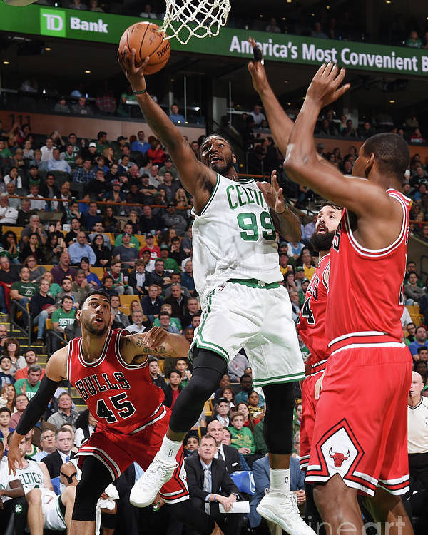 Nba Pro Basketball Poster featuring the photograph Jae Crowder by Brian Babineau