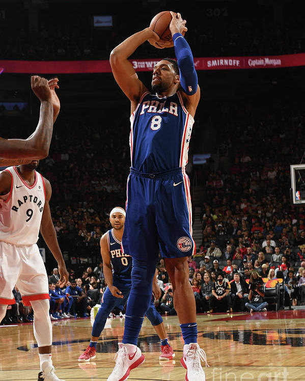 Nba Pro Basketball Poster featuring the photograph Jahlil Okafor by Ron Turenne