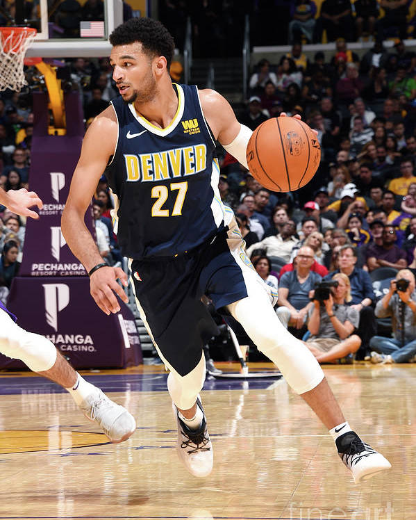 Nba Pro Basketball Poster featuring the photograph Jamal Murray by Andrew D. Bernstein