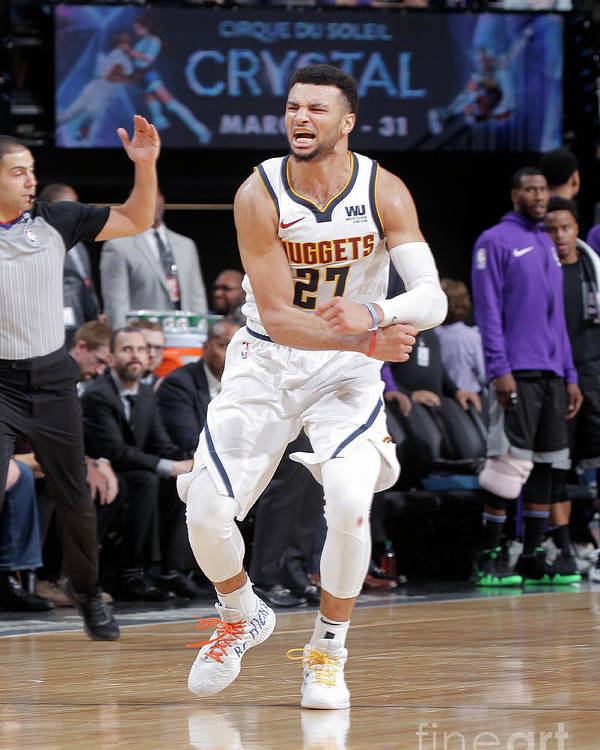 Nba Pro Basketball Poster featuring the photograph Jamal Murray by Rocky Widner