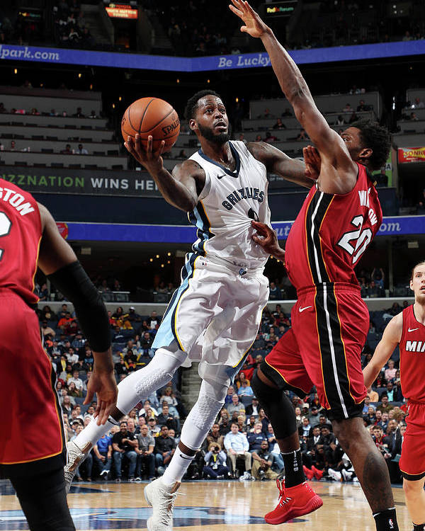Nba Pro Basketball Poster featuring the photograph Jamychal Green by Joe Murphy