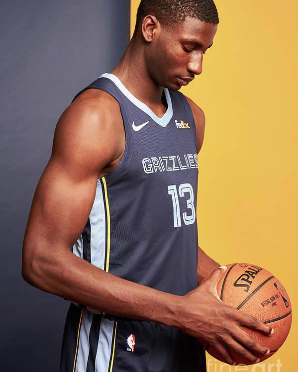 Nba Pro Basketball Poster featuring the photograph Jaren Jackson by Jennifer Pottheiser