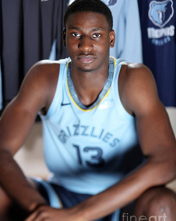 Nba Pro Basketball Poster featuring the photograph Jaren Jackson by Nathaniel S. Butler