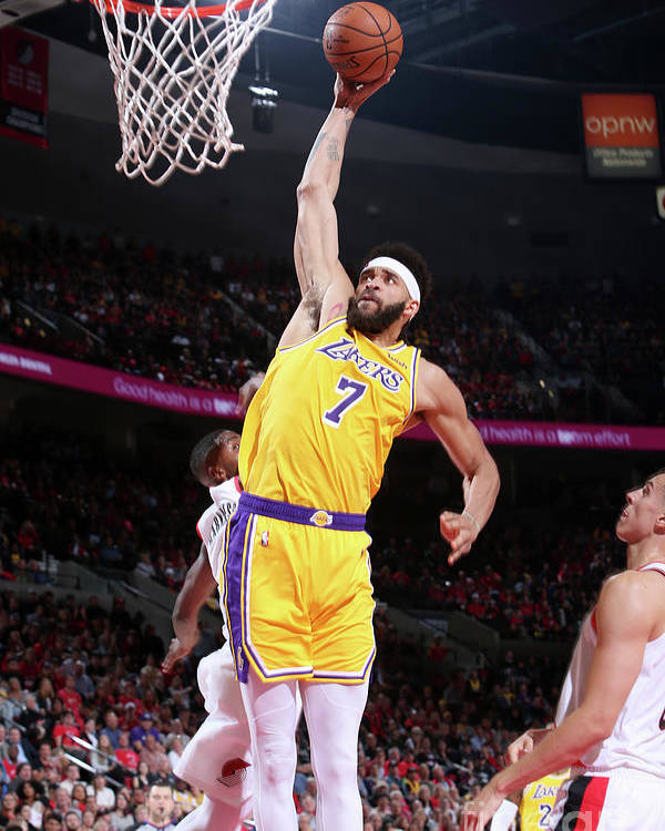 Nba Pro Basketball Poster featuring the photograph Javale Mcgee by Sam Forencich