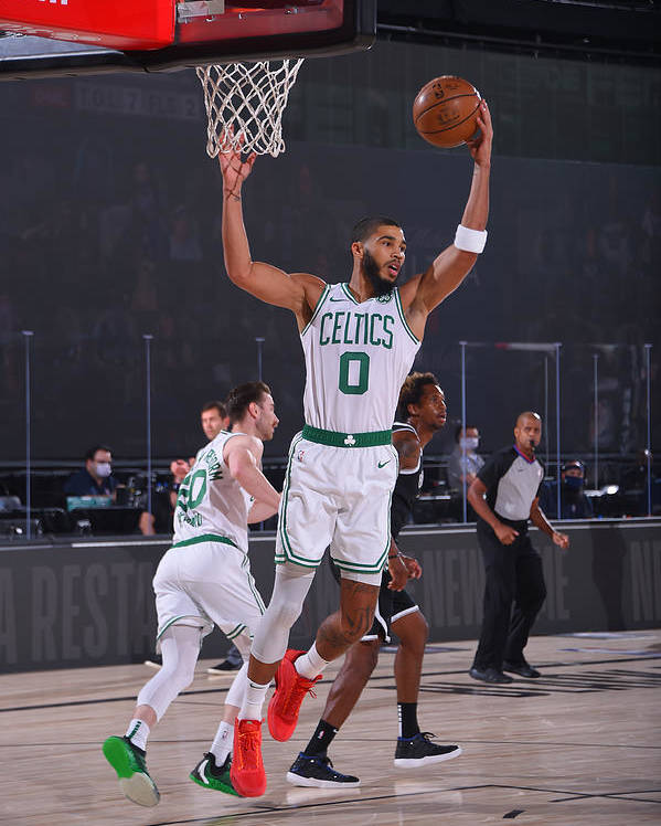 Nba Pro Basketball Poster featuring the photograph Jayson Tatum by Bill Baptist