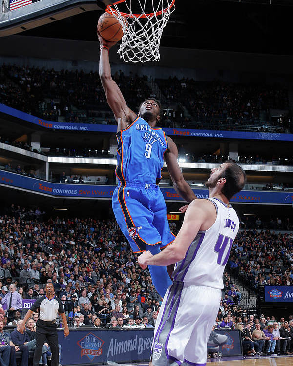 Nba Pro Basketball Poster featuring the photograph Jerami Grant by Rocky Widner