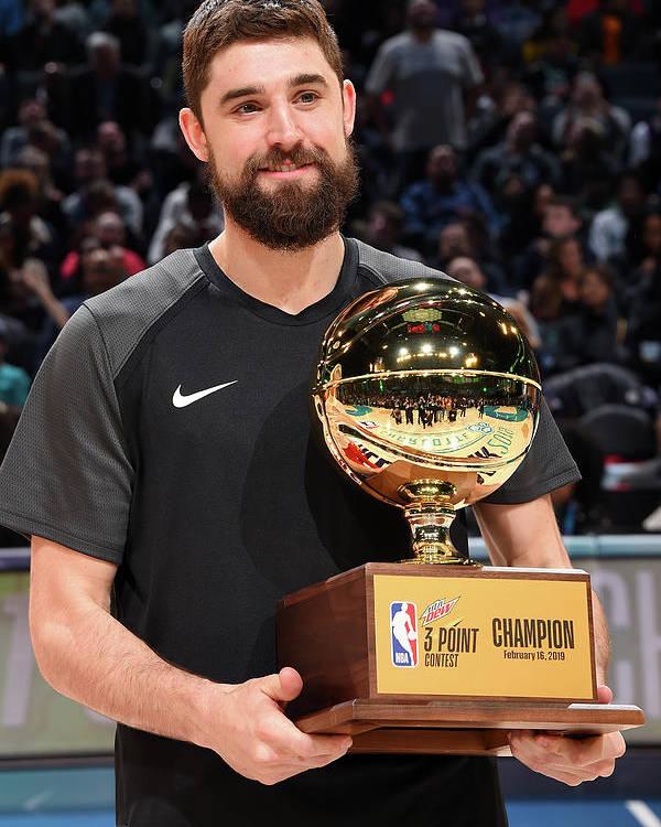 Nba Pro Basketball Poster featuring the photograph Joe Harris by Andrew D. Bernstein