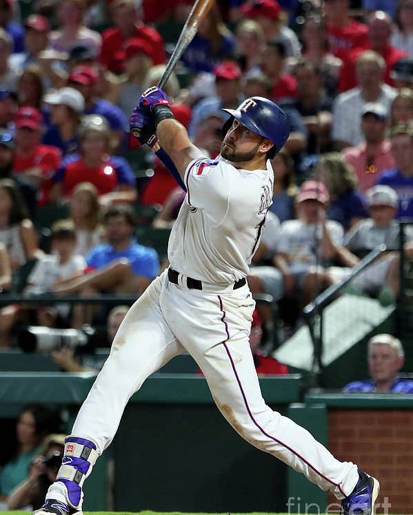 People Poster featuring the photograph Joey Gallo by Tom Pennington