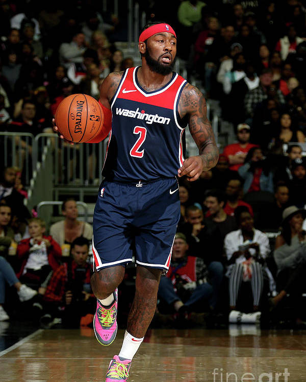 Nba Pro Basketball Poster featuring the photograph John Wall by Stephen Gosling