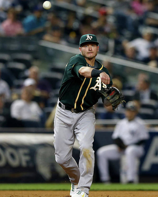 American League Baseball Poster featuring the photograph Josh Donaldson by Elsa