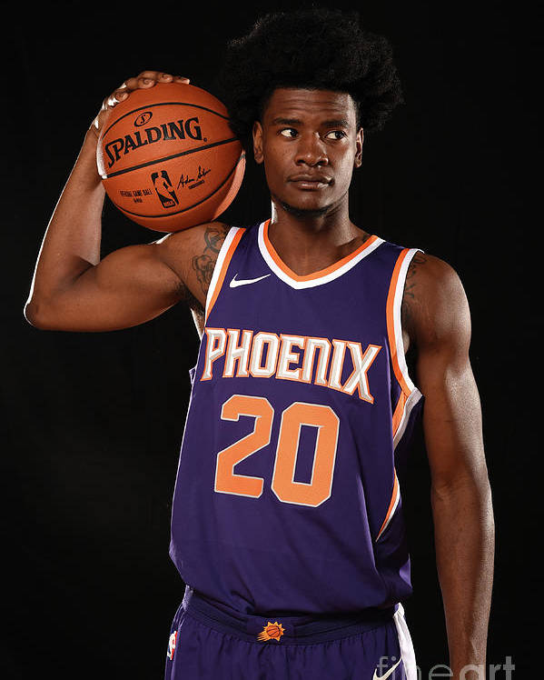 Nba Pro Basketball Poster featuring the photograph Josh Jackson by Brian Babineau