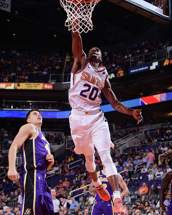 Nba Pro Basketball Poster featuring the photograph Josh Jackson by Michael Gonzales