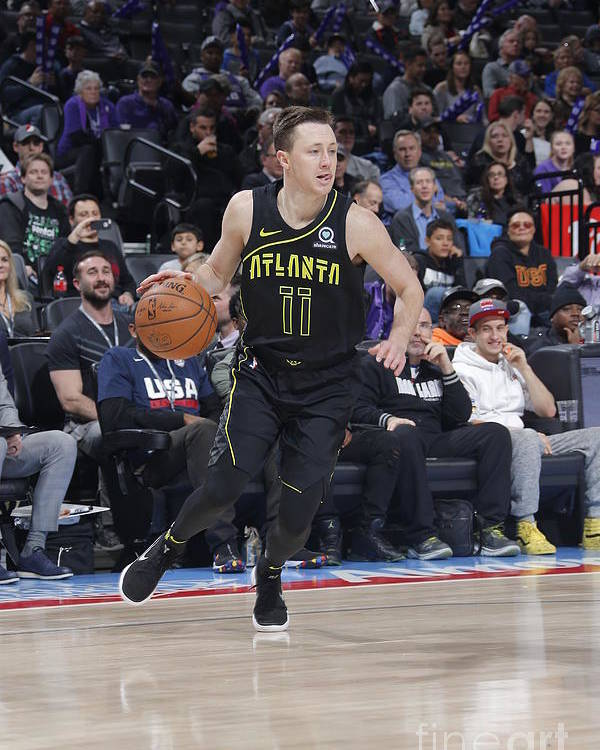 Nba Pro Basketball Poster featuring the photograph Josh Magette by Rocky Widner