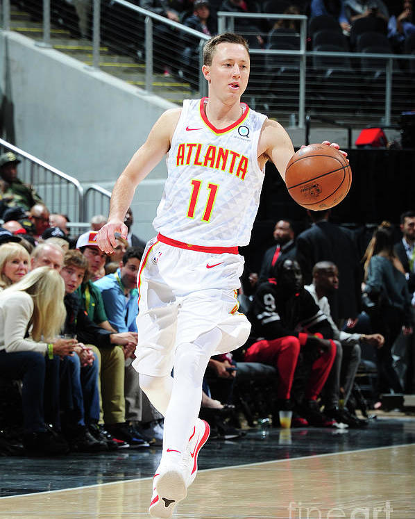 Atlanta Poster featuring the photograph Josh Magette by Scott Cunningham