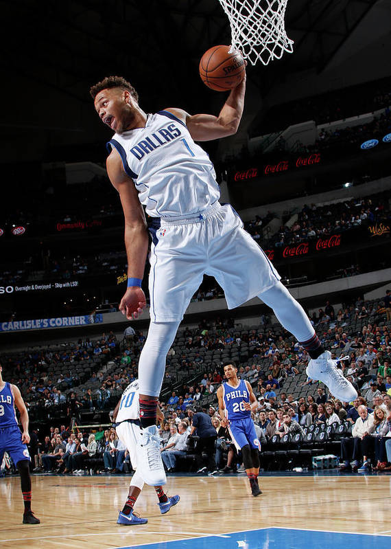 Nba Pro Basketball Poster featuring the photograph Justin Anderson by Glenn James