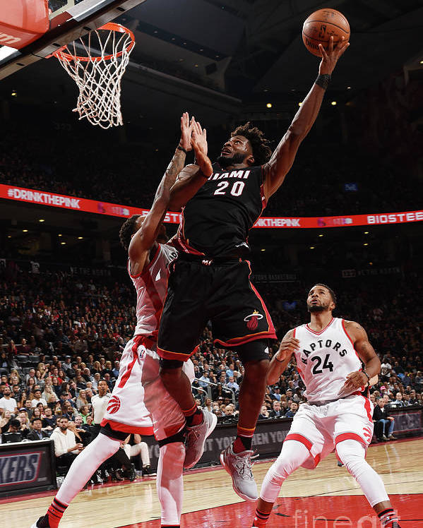 Justise Winslow Poster featuring the photograph Justise Winslow by Ron Turenne