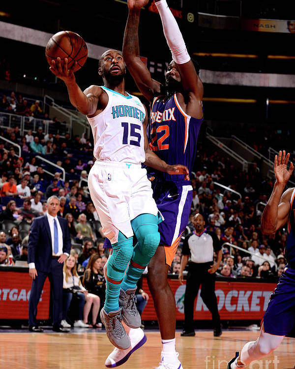 Kemba Walker Poster featuring the photograph Kemba Walker by Barry Gossage