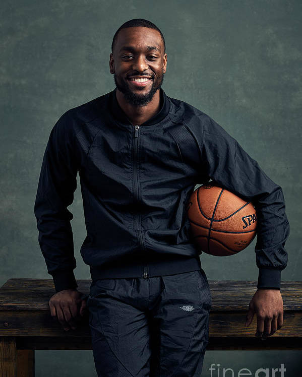 Event Poster featuring the photograph Kemba Walker by Jennifer Pottheiser