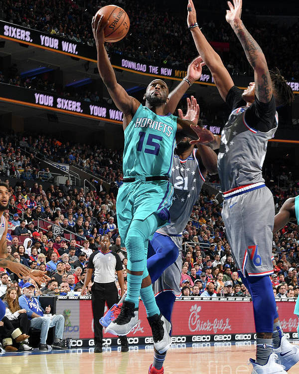 Kemba Walker Poster featuring the photograph Kemba Walker by Jesse D. Garrabrant