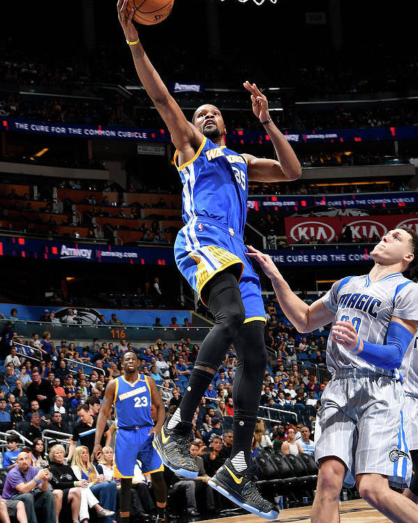 Nba Pro Basketball Poster featuring the photograph Kevin Durant by Fernando Medina