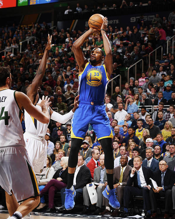 Nba Pro Basketball Poster featuring the photograph Kevin Durant by Garrett Ellwood