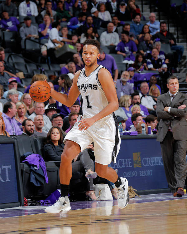 Nba Pro Basketball Poster featuring the photograph Kyle Anderson by Rocky Widner