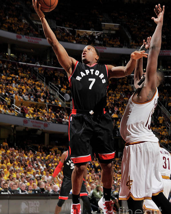 Playoffs Poster featuring the photograph Kyle Lowry by David Liam Kyle