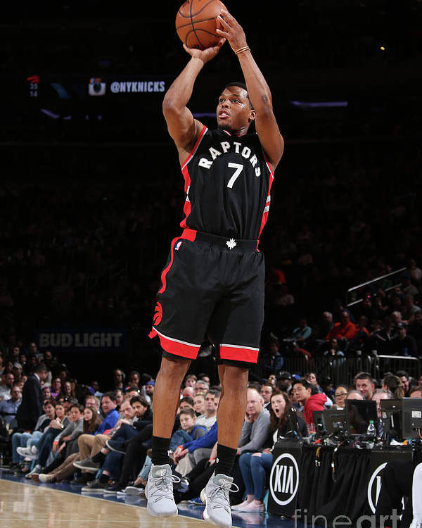 Nba Pro Basketball Poster featuring the photograph Kyle Lowry by Nathaniel S. Butler