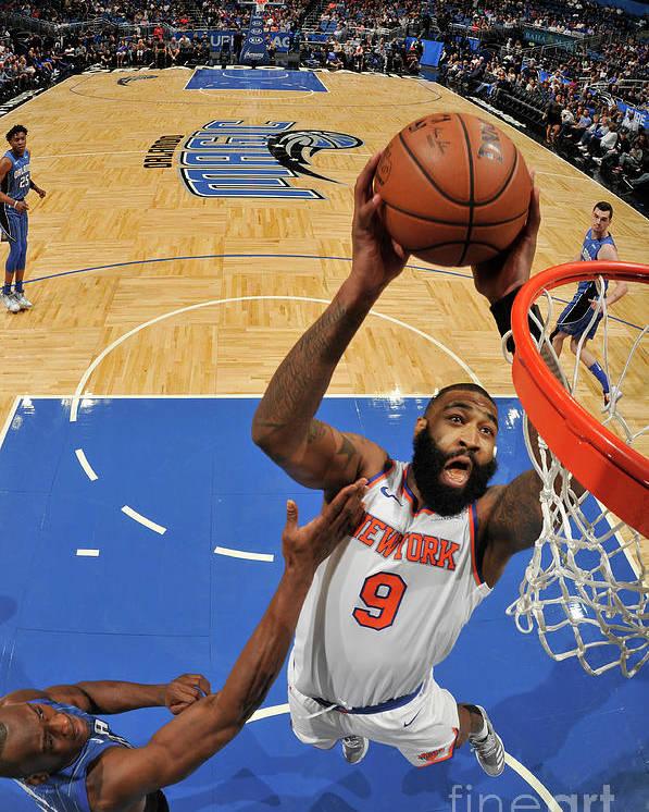 Nba Pro Basketball Poster featuring the photograph Kyle O'quinn by Fernando Medina