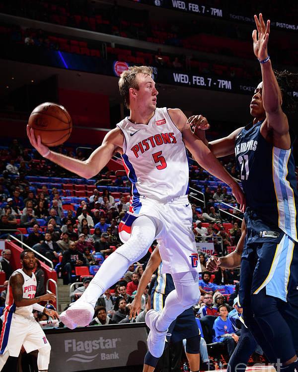 Nba Pro Basketball Poster featuring the photograph Luke Kennard by Chris Schwegler