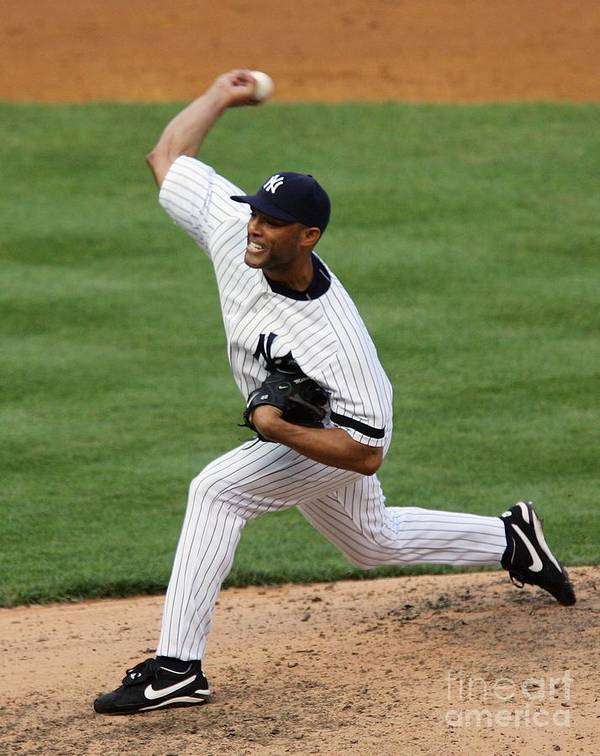 People Poster featuring the photograph Mariano Rivera by Jim Mcisaac