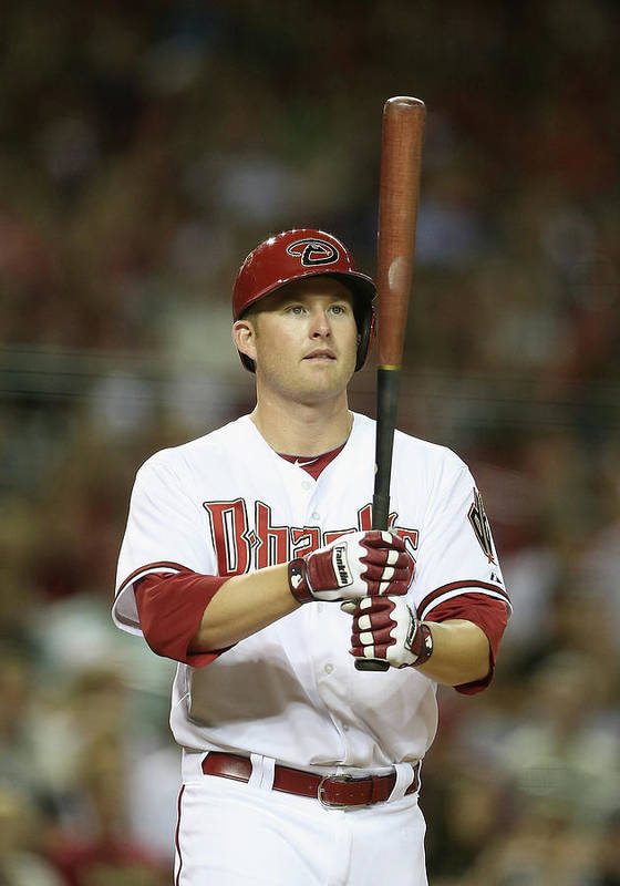 National League Baseball Poster featuring the photograph Mark Trumbo by Christian Petersen