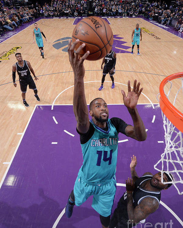 Nba Pro Basketball Poster featuring the photograph Michael Kidd-gilchrist by Rocky Widner