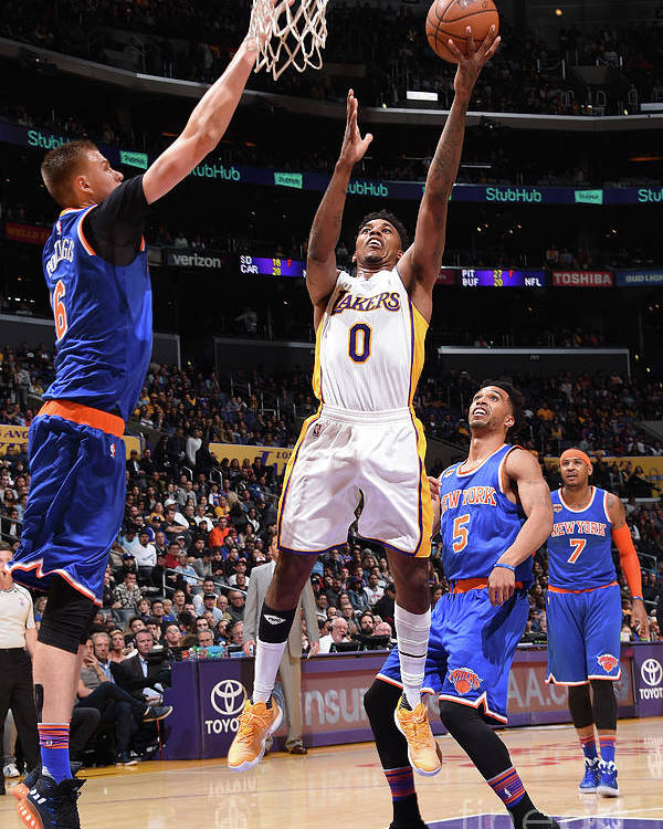 Nba Pro Basketball Poster featuring the photograph Nick Young by Andrew D. Bernstein