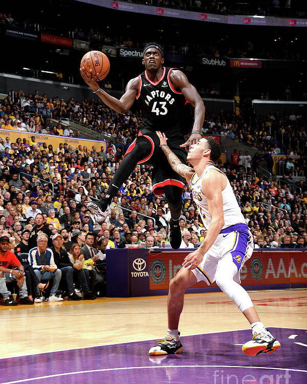 Nba Pro Basketball Poster featuring the photograph Pascal Siakam by Andrew D. Bernstein